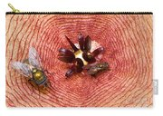 Blowflies On Stapelia Carry-all Pouch