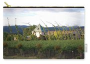 Blowing Grape Vines Carry-all Pouch by Holly Blunkall