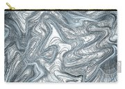 Blue Abstract Art Carry-all Pouch