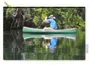 Blue Amongst The Greens - Canoeing On The St. Marks Carry-all Pouch