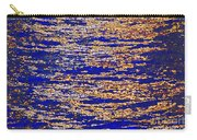 Blue And Gold Carry-all Pouch