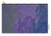 Blue And Purple Stone Abstract Carry-all Pouch