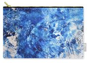 Ocean - Blue Abstract Art Paintingi Carry-all Pouch