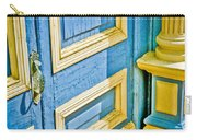 Blue And Yellow Door Carry-all Pouch