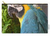 Blue And Yellow Macaw Carry-all Pouch