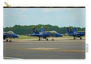 Blue Angels On Tarmac Carry-all Pouch