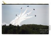 Blue Angels Star Burst Carry-all Pouch