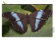 Blue Banded Morpho Carry-all Pouch