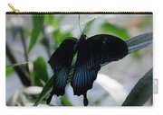 Blue-black Butterfly Carry-all Pouch