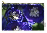 Blue Blossoms Carry-all Pouch