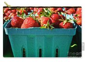 Blue Box Carry-all Pouch by Susan Herber