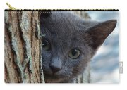 Russian Blue,cat  Carry-all Pouch