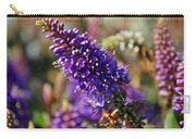 Blue Brush Bloom Carry-all Pouch