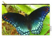 Blue Butterfly I Carry-all Pouch
