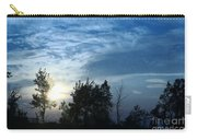 Blue Canvas Sky 03 Carry-all Pouch by Aimelle