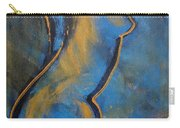 Blue Caryatid - Nudes Gallery Carry-all Pouch
