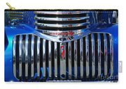 Blue Chevy Pick-up Grill Carry-all Pouch