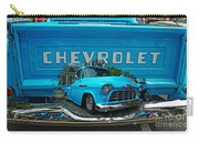Blue Chevy Pickup Dbl. Exposure Carry-all Pouch