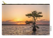 Blue Cypress Lake Sunrise Carry-all Pouch