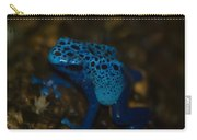 Blue Dart Frog Carry-all Pouch