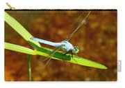Blue Dasher Dragonfly Carry-all Pouch