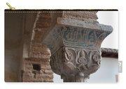 Blue Detail Column Carry-all Pouch