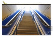 Blue Escalators Carry-all Pouch