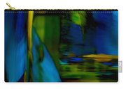 Blue Feather Reflections Carry-all Pouch