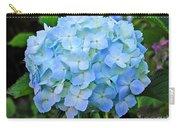 Blue Garden Flower Carry-all Pouch