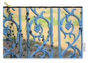 Blue Gate Swirls Carry-all Pouch