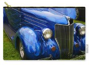 Blue Ghost Flames Carry-all Pouch