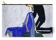 Blue Gown Carry-all Pouch