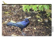 Blue Grackle Carry-all Pouch