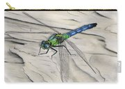 Blue-green Dragonfly Carry-all Pouch