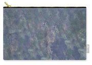 Blue Grey Abstract Carry-all Pouch