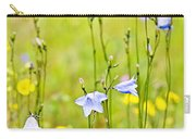 Blue Harebells Wildflowers Carry-all Pouch