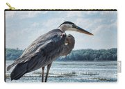 Blue Heron 1 Carry-all Pouch
