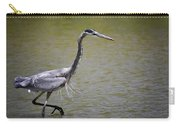Blue Heron On The Hunt  Carry-all Pouch