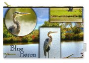 Blue Heron Pose Carry-all Pouch