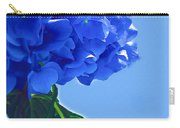 Blue Hortensia Hydrangea Carry-all Pouch