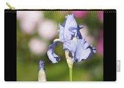 Blue Iris Close Up - Dsc03741 Carry-all Pouch