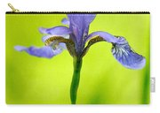 Blue Japanese Iris Carry-all Pouch