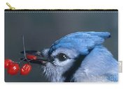 Blue Jay Carry-all Pouch by Photo Researchers, Inc.