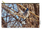 Blue Jay Thinking Carry-all Pouch