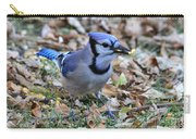 Blue Jay With A Piece Of Corn In Its Mouth Carry-all Pouch