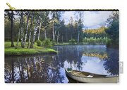 Blue Lake Carry-all Pouch by Debra and Dave Vanderlaan