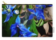 Blue Manipulation Carry-all Pouch by David Lane