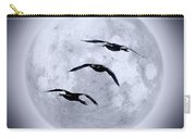 Blue Moon Geese Carry-all Pouch