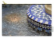 Blue Mosaic Fountain I Carry-all Pouch
