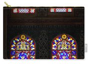 Blue Mosque Stained Glass Windows Carry-all Pouch